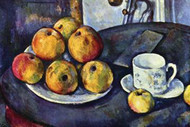 Still Life with Cup & Saucer by Cezanne
