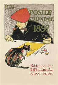 Poster Calendar 1897