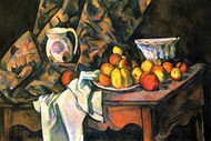 Still Life with Apples and Peaches by Cezanne