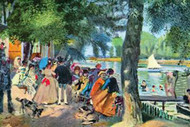 La Grenouillere by Renoir