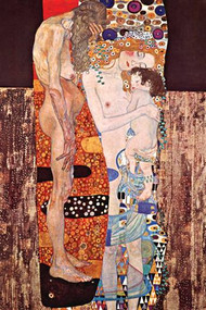 Three Ages of a Woman by Gustav Klimt