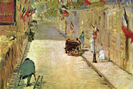 Rue Mosnier with Flags Edouard Manet