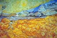 Reaper by Vincent Van Gogh