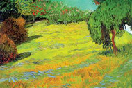 Sunny Lawn by Vincent Van Gogh