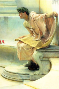 Reading of Homer by Alma-Tadema