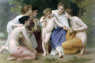 Admiration by Bouguereau