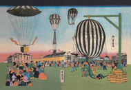 Launching of Hot Air Balloons