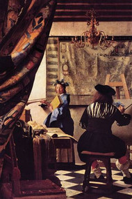 The Allegory of Painting by Vermeer