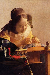 The Lace Maker by Vermeer