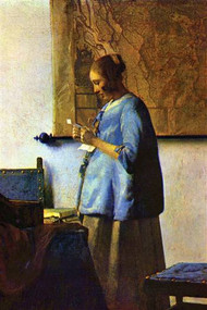 The Letter Reader by Vermeer