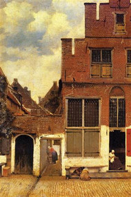 The Little Street by Vermeer