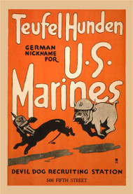 Teufel Hunden German Nickname for US Marines