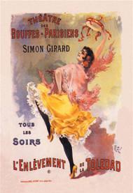 Simon Girard l'Enlevement de la Toledad