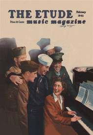Etude Soldiers at the USO Sing a Long