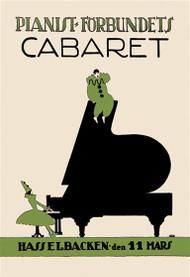 Pianist Forbundiets Cabaret