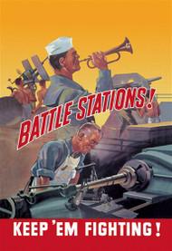 Battle Stations! Keep 'Em FIghting!