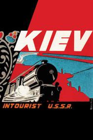 Kiev - Intourist U.S.S.R. II