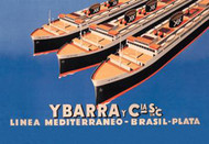 Ybarra and Company Mediterranean-Brazil-Plata Cruise Line