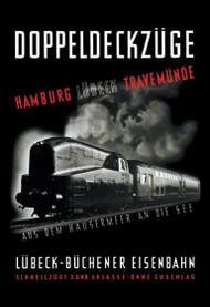 Doppeldeckzuge Hamburg Lubek Travemunde