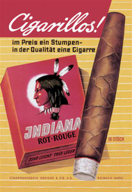 Indiana Cigarillos Rot Rouge