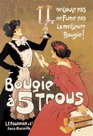 Bougie a 5 Trous