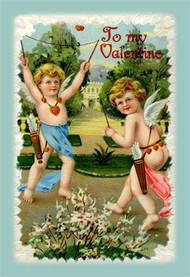 Two Cupids With Arrows