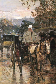 Rue Bonaparte by Hassam
