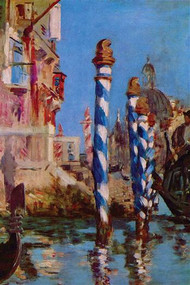 Grand Canal in Venice by Manet