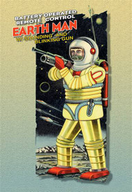 Battery Operated Earth Man
