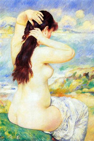 Bather by Auguste Renoir