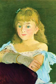 Portrait of Lina Campineanu by Manet