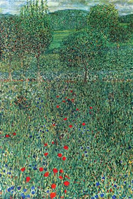Garden Landscape by Gustav Klimt