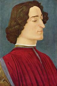Portrait of Giuliano De Medici by Botticelli