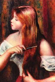 Combing Girl by August Renoir