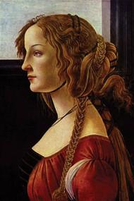 Portrait of Simonetta Vespucci by Botticelli (1476) by Botticelli