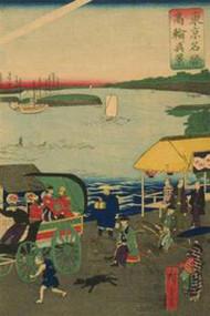 Famous Places in Tokyo View of Takanawa (Tokyo Meisho Takanawa No Shinkei) #3