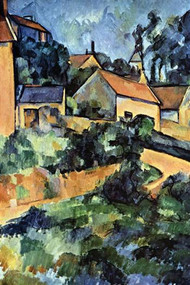 Road Curve in Montgerout by Cezanne