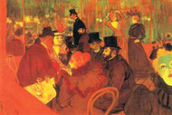 In the Moulin Rouge by Toulouse Lautrec