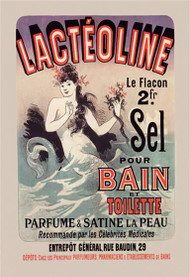 Lacteoline by Jules Cheret