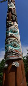Totem Pole Saxman Totem Park