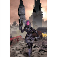 Mass Effect Wall Graphics: Homeworlds #2 (Mike Hawthorne Variant Cover)