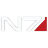 Mass Effect Wall Graphics: N7 Badge II