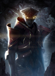 Mass Effect Wall Graphics: Prothean