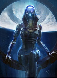 Mass Effect Wall Graphics: Tali