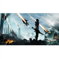 Mass Effect Wall Graphics: Commander Shepard Cover Art III
