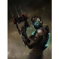 Dead Space Wall Graphics: Isaac + Plasma Cutter