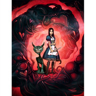 Alice and Cheshire Cat