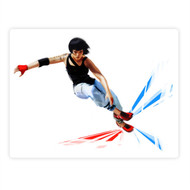Mirror's Edge Faith Jumping (rectangle)