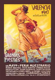 Valencia: Grande Fiestas de Mayo, 1917