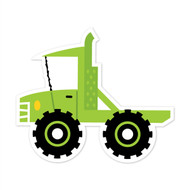 Caleb Gray Studio: Green Tow Truck